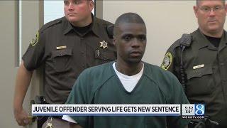 Download Juvenile offender serving life gets new sentence Video