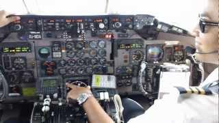 Download Amazing Juliana Airport St.Maarten MD-80 Cockpit Video 720p Video