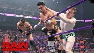 Download Austin Aries & Gentleman Jack Gallagher vs. Neville & TJ Perkins: Raw, April 24, 2017 Video