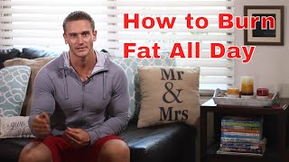 Download Burn Fat All Day with 15 Minutes of Cardio- Thomas DeLauer Video