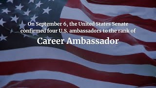 Download United States Senate Confirms Four Ambassadors to the Rank of Career Ambassador Video