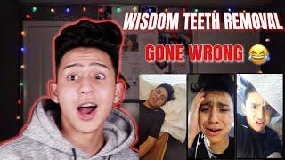 Download REACTING TO MY WISDOM TEETH VIDEOS   ALEX GUZMAN Video