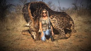 Download Outrage after American hunter poses with dead giraffe Video