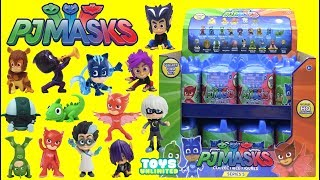Download PJ MASKS Collectible Figures Surprise Capsules Series 5 with Owlette, Catboy & Gekko Video