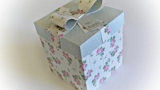 Download DIY | Como Fazer uma Caixa para Presente - Gift Box Video