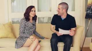 Download Lily Collins talks 'The Mortal Instruments: City of Bones' Video