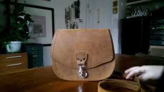 Download Saddleback Leather Hobo Purse and Long Trifold Wallet in Tobacco Video