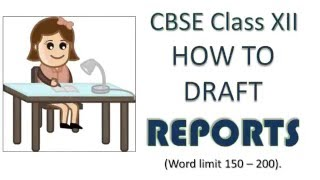 Download Report Writing Format and Samples   CBSE Class 12 and Class 11 Video