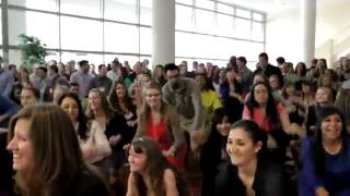 Download Bush School Students Surprise President Bush with Flash Mob at Texas A&M University Video