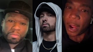Download Ja Rule Responds To Eminem Dissing Him On 'Killshot'.. ″You're A Clout Chaser″ + 50 Cent Reacts Video