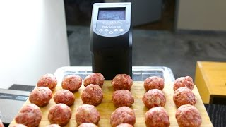 Download How to make Sous Vide Meatballs Video