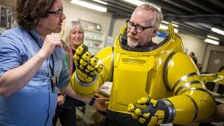 Download Adam Savage Puts On Alien: Covenant's Spacesuit! Video