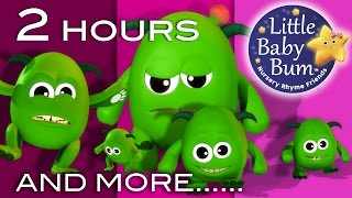 Download Five Little Monsters | And More Nursery Rhymes | 2 Hours Compilation From LittleBabyBum! Video