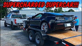 Download Rebuilding A Wrecked 2017 Corvette Z06 Video