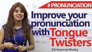 Download Tongue Twisters to improve your English pronunciations ( Free English Lessons) Video