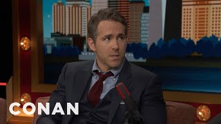 Download Ryan Reynolds Told The Canadian Prime Minister To Annex Alaska - CONAN on TBS Video