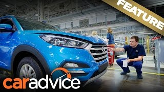 Download Hyundai Tucson: We build one from scratch in the Czech Republic | A CarAdvice Feature Video