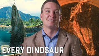 Download Every Dinosaur In 'Jurassic Park' Series Explained | WIRED Video