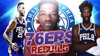 Download COMPLETING THE PROCESS   PHILADELPHIA 76ERS REBUILD   NBA 2K19   KOT4Q Video