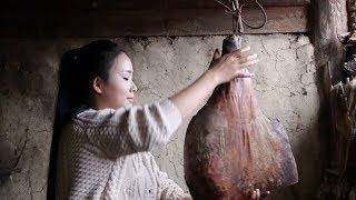 Download 卸了今年最后一只火腿做个豌豆火腿焖饭,犒劳一下自己和家人【滇西小哥】 Video
