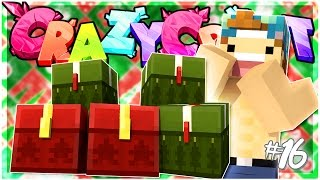 Download OPENING CHRISTMAS PRESENTS!!   EP 16   Crazy Craft 3.0 (Minecraft Youtuber Server) Video