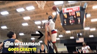 Download Zion Williamson BAPTIZES Defender + Crazy Block Party! ″Get That OUT!″ Video