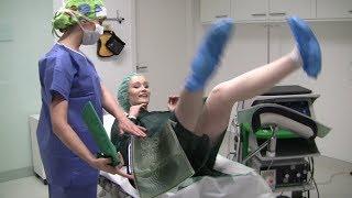 Download Schamlippenkorrektur Erfahrungsbericht: OP-Tag der Intim-Operation, innere Schamlippen verkleinern Video
