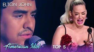 Download Alejandro Aranda: Katy Perry BREAKS DOWN As Alejandro Rules The Night | American Idol 2019 Video