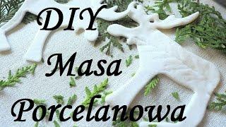 Download Masa Porcelanowa prosty przepis jak zrobić / zimna porcelana bez gotowania / sucha porcelana DIY Video