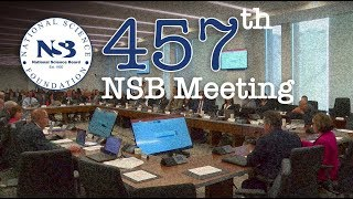 Download NSB Meeting 457 Day 1 Live Webcast Video