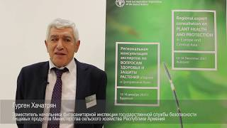 Download Interview with Gurgen Khachatryan - Regional expert consultation on plant health and protection Video