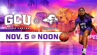 Download GCU Women's Basketball vs Benedictine November 5, 2019 Video