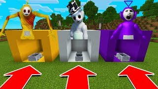 Download DO NOT CHOOSE THE WRONG MINECART IN Minecraft PE (Tinky WInky, Laa Laa, & Guardian Slendytubbies) Video
