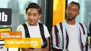 Download Amandla Stenberg and Cast of 'The Hate U Give' Discuss Emotional & Important Themes | TIFF 2018 Video