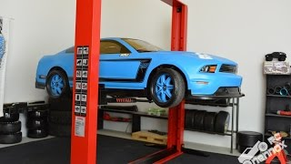 Download Aluminium scale car lift 1:10 by Team DC | RC Nennox Video