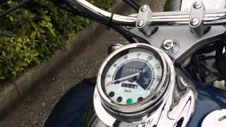 Download ヤマハ ドラッグスター250 試乗インプレッション マフラー音 エンジン音 Video