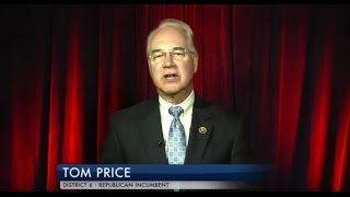 Download Message from Congressman Tom Price, M.D. (GA-06) - WSB TV Candidate Access Video