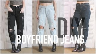 Download DIY Distressed Boyfriends Jeans—$6 or less Video