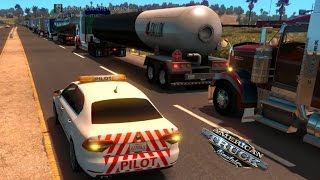 Download Multiplayer American Truck Simulator   Gran Convoy a San Francisco Video