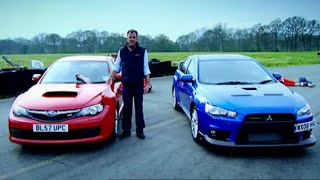 Download Mitsubishi Evo vs. Subaru Impreza (HQ) | Top Gear | BBC Video
