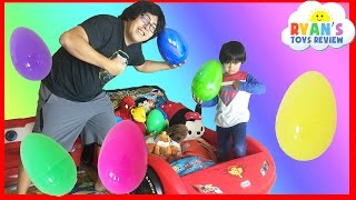 Download EASTER EGGS Surprise Toys Challenge with Disney Cars Toys and Paw Patrol Video