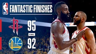 Download Best Plays From Down The Stretch: Rockets vs Warriors Video