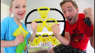 Download Father & Son PLAY BATTLE BAGS! / Who Will Win!? Video