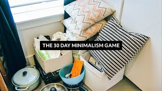 Download The 30 Day Minimalism Game: Everything I Decluttered & Reflections | Minimalist Home Video