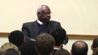 Download Justice Clarence Thomas visits HLS Video