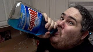 Download PICKLEBOY DRINKS WINDEX PRANK! Video