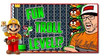 Download Super Mario Maker - The Equinox Troll Level Showcase Video