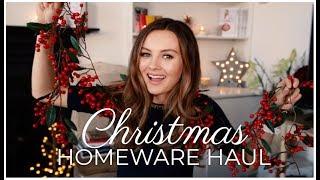 Download HUGE CHRISTMAS HOMEWARE HAUL! | Niomi Smart Video