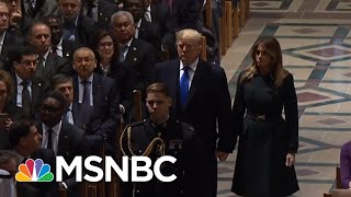 Download NYT: President Trump Miffed That Focus Shifted To Bush 41 & Away From Him | The 11th Hour | MSNBC Video