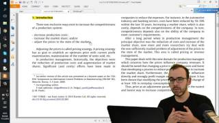 Download 2.3 Let's Write: First Lines and Literature Review Of Research Thesis Video